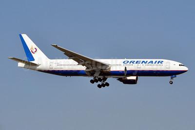 Orenair (Orenburg Airlines) Boeing 777-2Q8 ER VQ-BNU (msn 29908)  AYT (karl Cornil). Image: 923201.