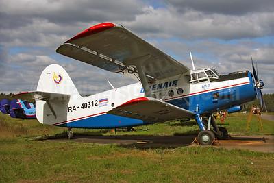 Orenair (Orenburg Airlines) Antonov  An-2R RA-40312 (msn 1G221-48) Chernoye (Keith Burton). Image: 932241.