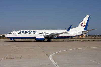 Orenair (Orenburg Airlines) Boeing 737-85R WL VQ-BEM (msn 29036) AYT (Andi Hiltl). Image: 907210.