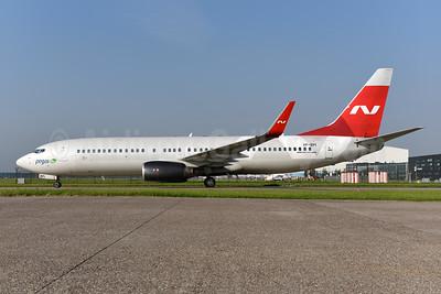 Pegas Fly (Pegas Touristik) (IKAR Airlines) Boeing 737-83N WL VP-BPI (msn 28244) (Nordwind colors) AMS (Ton Jochems). Image: 941954.