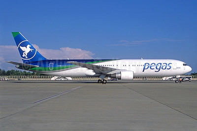 Pegas Fly (Pegas Touristik) (IKAR Airlines)  Boeing 767-3Q8 ER VP-BMC (msn 30301) AYT (Jacques Guillem Collection). Image: 938619.