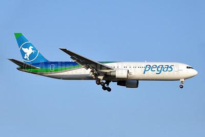Pegas Fly (Pegas Touristik) (IKAR Airlines)  Boeing 767-3Q8 ER VP-BMC (msn 30301) AYT (Karl Cornil). Image: 923200.