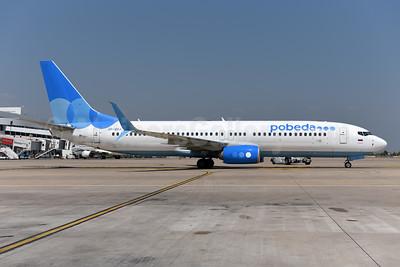 Pobeda Boeing 737-800 SSWL VP-BPJ (msn 61800) AYT (Ton Jochems). Image: 943621.