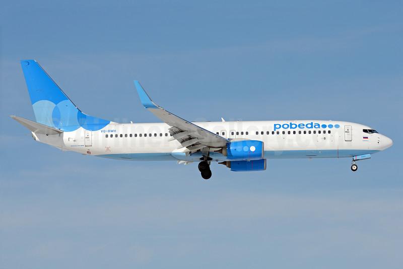 Pobeda Boeing 737-8LJ WL VQ-BWH (msn 41206) VKO (OSDU). Image: 932426.