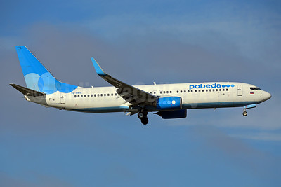 Pobeda Boeing 737-8LJ WL VQ-BWG (msn 41205) STN (Keith Burton). Image: 944213.
