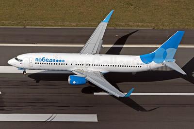 Pobeda Boeing 737-8AL WL VP-BPJ (msn 61800) CGN (Rainer Bexten). Image: 951177.