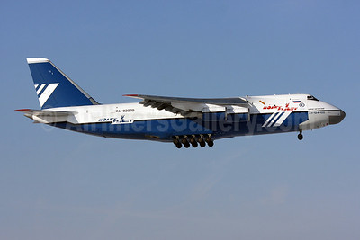 Polet Flight (Polet Airlines) Antonov An-124-100 RA-82075 (msn 9773053459147) IAD (Brian McDonough). Image: 909527.