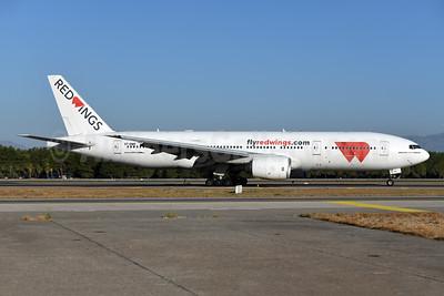 Red Wings Airlines Boeing 777-21H ER VP-BMR (msn 29325) AYT (Ton Jochems). Image: 955074.