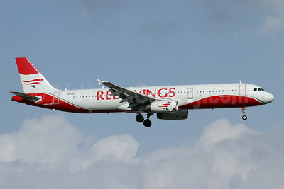 Red Wings Airlines Airbus A321-231 VP-BRS (msn 1843) AYT (Andi Hiltl). Image: 942684.