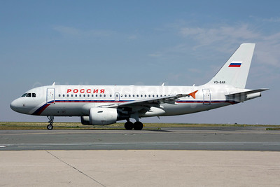 Rossiya Russian Airlines Airbus A319-111 VQ-BAR (msn 1488) CDG (Christian Volpati). Image:  908151.