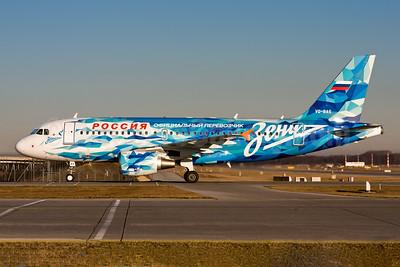 Rossiya Airlines Airbus A319-111 VQ-BAS (msn 1863) (FC Zenit St. Petersburg) MUC (Gunter Mayer). Image: 954291.