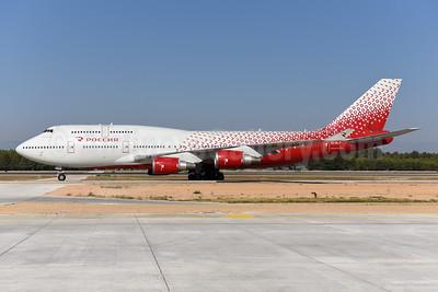 Rossiya Airlines Boeing 747-446 EI-XLF (msn 27645) AYT (Ton Jochems). Image: 943780.