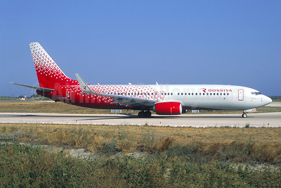 Rossiya Airlines Boeing 737-8LJ WL VP-BGQ (msn 41232) RHO (Jacques Guillem Collection). Image: 942917.
