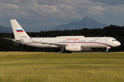 Rossiya Russian Airlines Tupolev Tu-214VPU RA-64520 (msn 44709020) GVA (Paul Denton). Image: 920663.