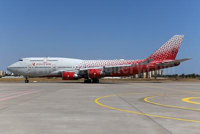 Rossiya Airlines Boeing 747-446 EI-XLJ (msn 27646) AYT (Ton Jochems). Image: 955562.