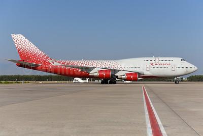 Rossiya Airlines Boeing 747-446 EI-XLI (msn 27648) AYT (Ton Jochems). Image: 939897.