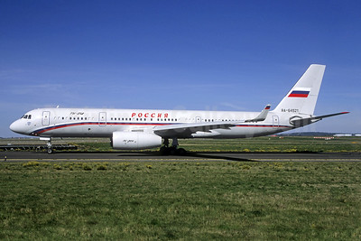 Rossiya Russian Airlines Tupolev Tu-214 RA-64521 (msn 43911021) CDG (Jacques Guillem Collection). Image: 938631.