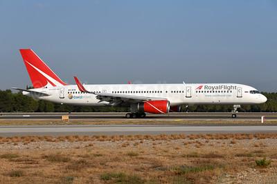 Royal Flight (Russia) Boeing 757-28A WL VQ-BTB (msn 28835) AYT (Ton Jochems). Image:  929645.