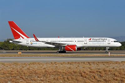 Royal Flight (Russia) Boeing 757-28A WL VQ-BTR (msn 28171) (Coral Travel) AYT (Ton Jochems). Image: 939890.
