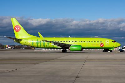 S7 Airlines (Siberia Airlines) Boeing 737-86J WL VP-BUG (msn 37741) MUC (Gunter Mayer). Image: 955052.