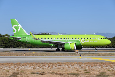 S7 Airlines (Siberia Airlines) Airbus A320-271N WL VQ-BRA (msn 8284) AYT (Ton Jochems). Image: 955053.
