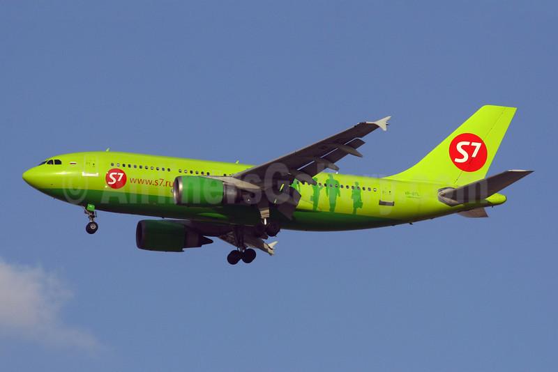 S7 Airlines (Siberia Airlines) Airbus A310-204 VP-BTL (msn 487) DXB (Konstantin von Wedelstaedt). Image: 900218.