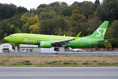 First MAX 8 for S7 Airlines