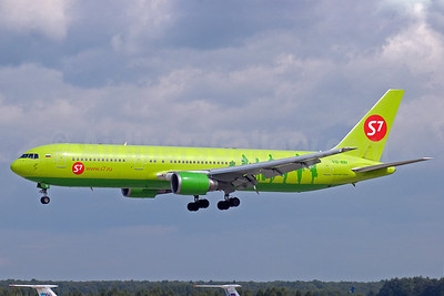 S7 Airlines (Siberia Airlines) Boeing 767-328 ER VQ-BBI (msn 27428) DME (OSDU). Image: 903845.