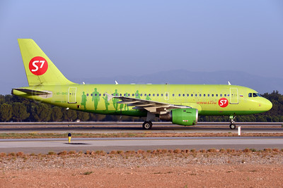 S7 Airlines (Siberia Airlines) Airbus A319-114 VP-BHQ (msn 2641) AYT (Ton Jochems). Image: 952715.