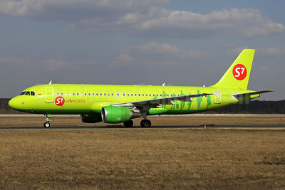 S7 Airlines (Siberia Airlines) Airbus A320-214 VP-BCZ (msn 3446) DME (Wim Callaert). Image: 938446.