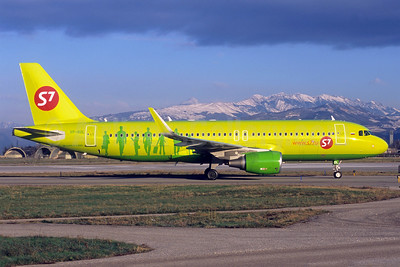 S7 Airlines (Siberia Airlines) Airbus A320-214 WL  VP-BOL (msn 6066) VRN (Jacques Guillem Collection). Image: 938447.