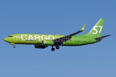 S7 Cargo (S7 Airlines) Boeing 737-86J (BCF) WL VP-BEN (msn 32917) LHR (Richard Vandervord). Image: 955419.