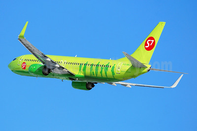 S7 Airlines (Siberia Airlines) Boeing 737-8ZS WL VQ-BKV (msn 37084) DME (OSDU). Image: 908133.