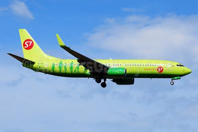 S7 Airlines (Siberia Airlines) Boeing 737-83N WL VP-BND (msn 28245) BRU (Karl Cornil). Image: 904648.
