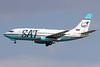 SAT Airlines (Sakhalin Airlines) Boeing 737-232 RA-73005 (msn 23100) PEK (Michael B. Ing). Image: 907816.