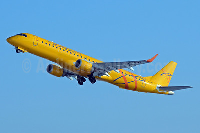 Saratov Airlines Embraer ERJ 190-200LR (ERJ 195) VQ-BRY (msn 19000157) DME (OSDU). Image: 922055.