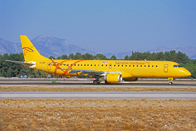 Saratov Airlines Embraer ERJ 190-200LR (ERJ 195) VQ-BRY (msn 19000157) AYT (Jacques Guillem Collection). Image: 938648.