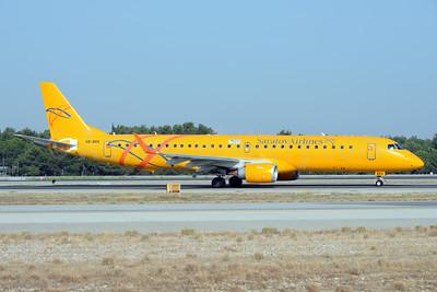 Saratov Airlines Embraer ERJ 190-200LR (ERJ 195) VQ-BRX (msn 19000169) AYT (Ton Jochems). Image: 933276.