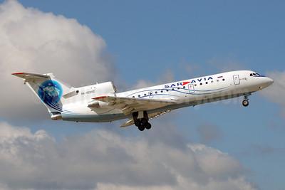 Sar Avia (Saratov Airlines) Yakovlev Yak-42D RA-42550 (msn 4520411140205) DME (OSDU). Image: 909522.