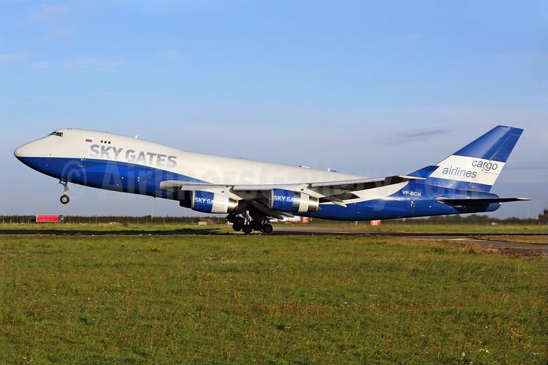 Sky Gates Airlines Boeing 747-467F VP-BCH (msn 30804) (Silk Way colors) MST (Rainer Bexten). Image: 939253.