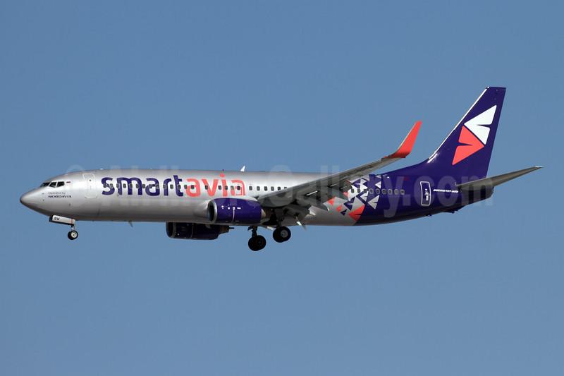 Smartavia (Nordavia) Boeing 737-86N WL VQ-BBW (msn 36818) AYT (Andi Hiltl). Image: 946917.