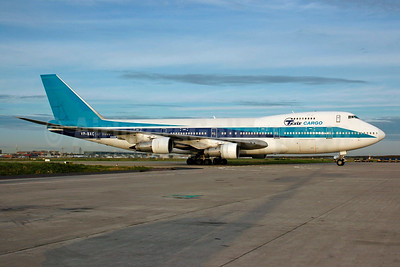 Tesis Cargo Boeing 747-258B (F) VP-BXC (msn 22265) (El Al colors) FRA (Bernhard Ross). Image: 943786.