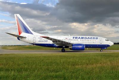 Transaero Airlines Boeing 737-7Q8 EI-ENZ (msn 29355) LHR (Dave Glendinning). Image: 908493.