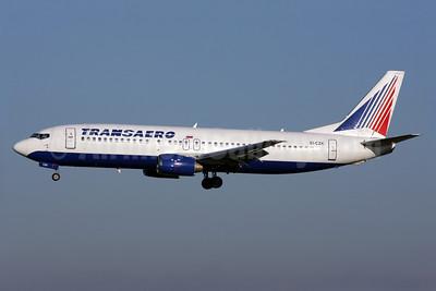 Transaero Airlines Boeing 737-4Y0 EI-CZK (msn 24519) LHR (Antony J. Best). Image: 903175.