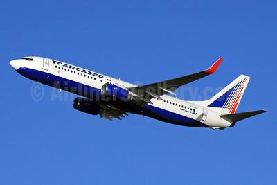 Transaero Airlines Boeing 737-86J WL EI-UNK (msn 36119) LHR (SPA). Image: 927131.