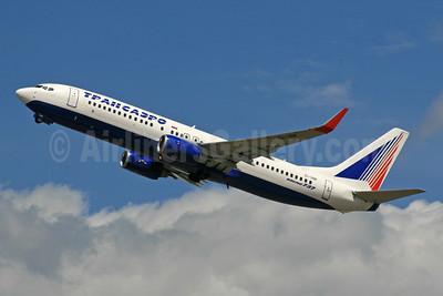 Transaero Airlines Boeing 737-86J WL EI-UNK (msn 36119) LHR (SPA). Image: 940580.