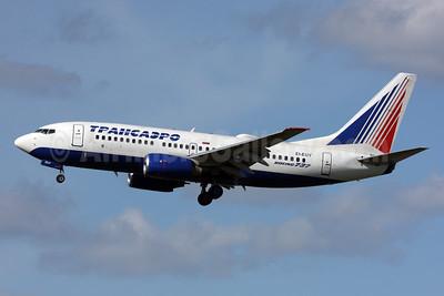 Transaero Airlines Boeing 737-7Q8 EI-EUY (msn 29354) LHR (SPA). Image: 927367.