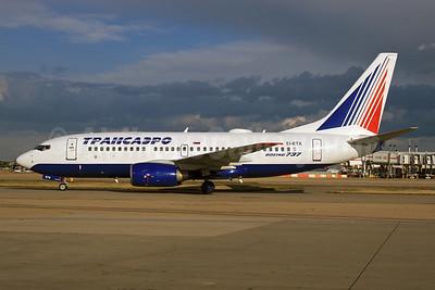 Transaero Airlines Boeing 737-7Q8 EI-ETX (msn 29359) LHR (SPA). Image: 925623.