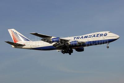 Transaero Airlines Boeing 747-219B VP-BQC (msn 22725) DME (Wim Callaert). Image: 944259.