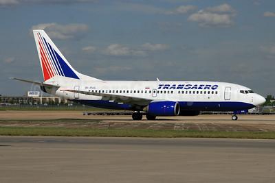 Transaero Airlines Boeing 737-7K9 EI-RUL (msn 34320) LHR (SPA). Image: 929196.